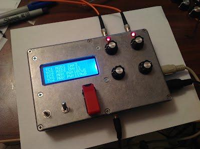 Controlador sintetizador de bobina musical Tesla